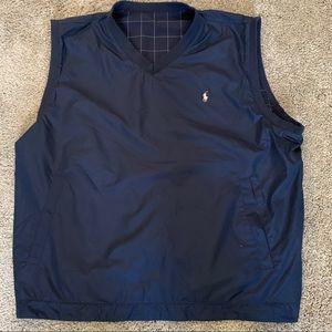 Ralph Lauren Polo golf reversible vest